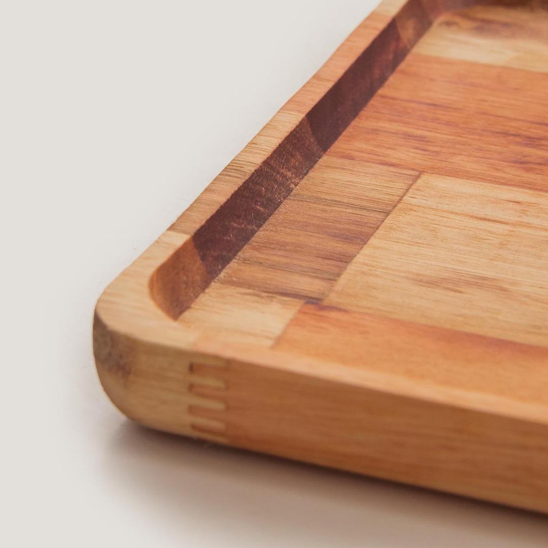 Imagem Bandeja em madeira pinus
